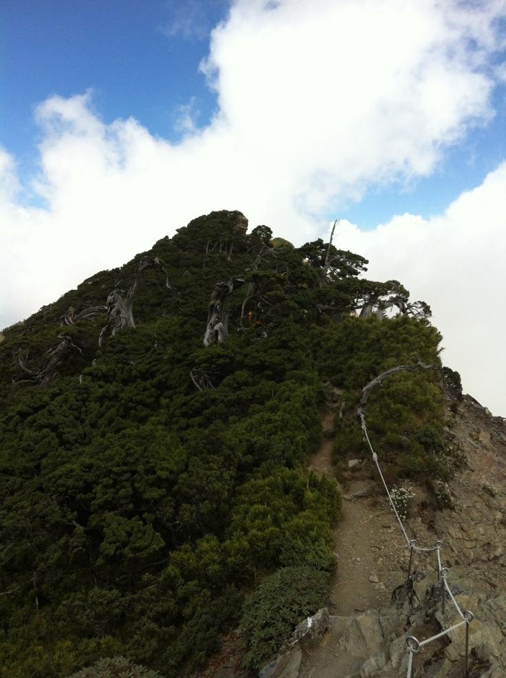 Scaling the ridge's peaks